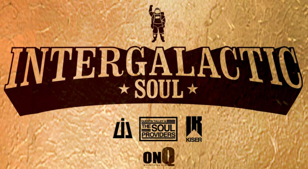 Graphic logo for Intergalactic Soul