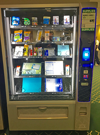 Supply Vending Machine Added To Atkins Library Auxiliary