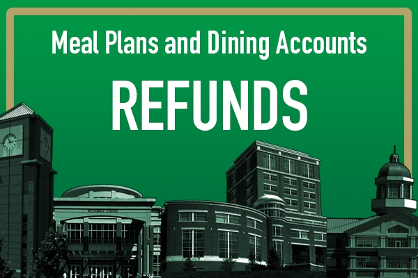 Meal Plan and Dining Account Refunds