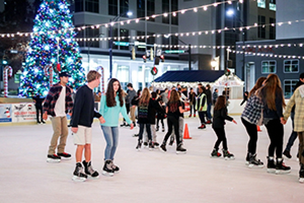 Photo of Holidays on Ice outdoor skating rink
